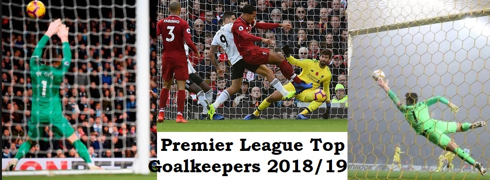 Premier League Clubs: Premier League: Ranked Of The Top Goalkeepers In 2018/19