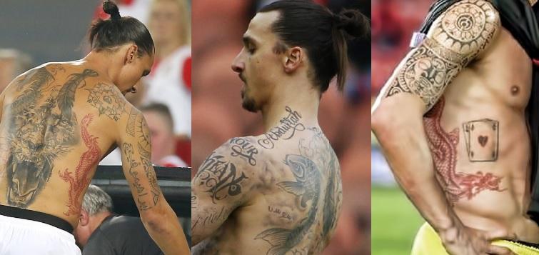 Zlatan Ibrahimovićs Tattoos Their Meanings Perfect