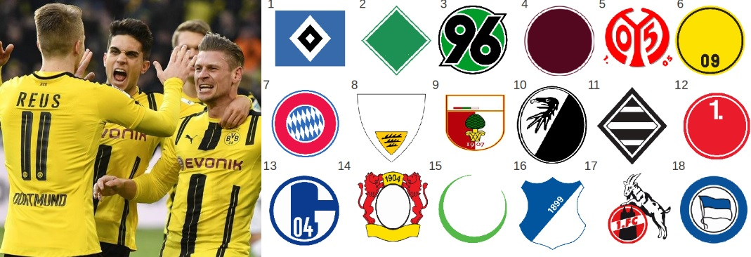 German football league Bundesliga Match Fixtures 2019