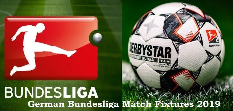 German Cup Fixtures