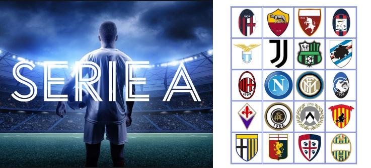 Italian Football League Serie A Point Table 2020 21